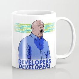 Steve Ballmer: Developers Developers! Coffee Mug