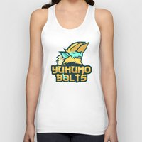 monster hunter Tank Tops featuring Monster Hunter All Stars - The Yukumo Bolts by Bleached ink