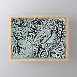 A Dude Lebowski Man Framed Mini Art Print