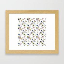Florence White Framed Art Print