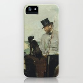 At the Races in the Countryside iPhone Case