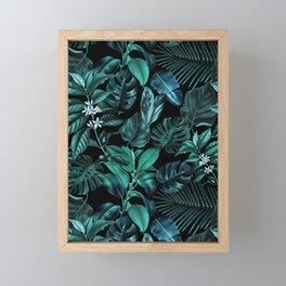 Tropical Garden Framed Mini Art Print
