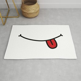 Smile 1 Tonge out  Rug