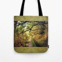 wonderland Tote Bags featuring wonderLand by Dirk Wuestenhagen Imagery