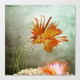 Ocean Deep Canvas Print