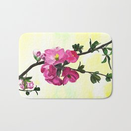 Blossom Spray Bath Mat