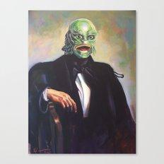Portrait of Monsieur Gills Canvas Print
