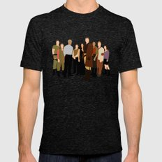 Firefly/serenity crew LARGE Tri-Black Mens Fitted Tee