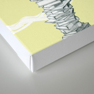 "Glue Network Print Series ""Education & Arts"" Canvas Print"