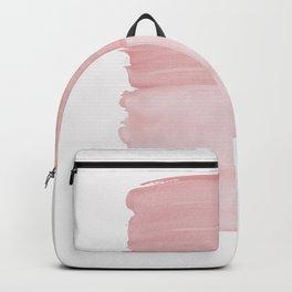 Blush Abstract Minimalism #1 #minimal #ink #decor #art #society6 Backpack
