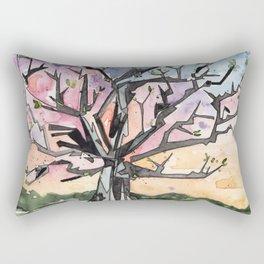 Spring Tree Rectangular Pillow