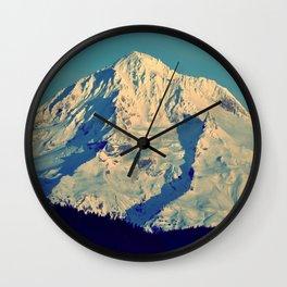 MT. HOOD - AT TWILIGHT Wall Clock