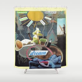 Collage - Labor of Love Shower Curtain