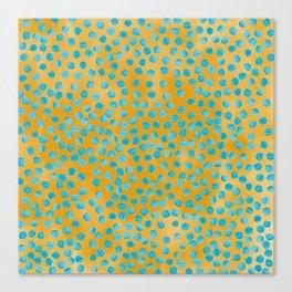 Texture_Dots_SketchBook Canvas Print