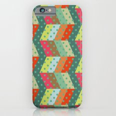 retro pattern and observatory 2 Slim Case iPhone 6s