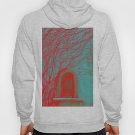 Vessel, Veins and Vines Gothic Garden Wall Digital Photograph Hoody