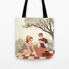 Hades & Persephone Picnic Tote Bag