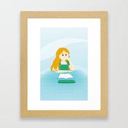 C'est la rentrée ! Framed Art Print