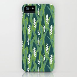 Lily of the Valley Muget iPhone Case