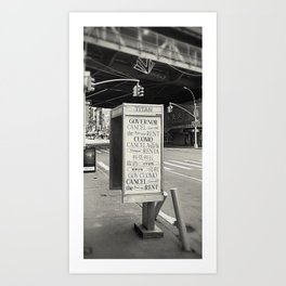 Cancel Rent series -I-  Art Print