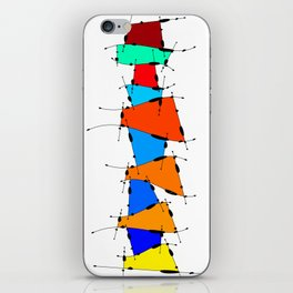 Sanomessia - melting cubes iPhone Skin