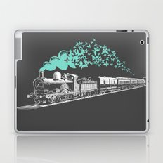 Butterfly Train Laptop & iPad Skin