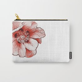 Flower orange, spring Carry-All Pouch