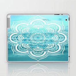 Mandala : Aqua Sunset Waters Laptop & iPad Skin
