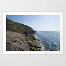 English Coast Art Print