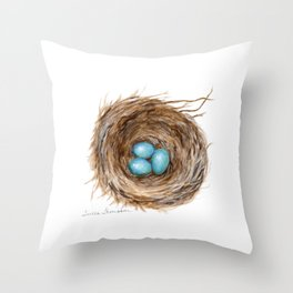 Life is Fragile by Teresa Thompson Throw Pillow