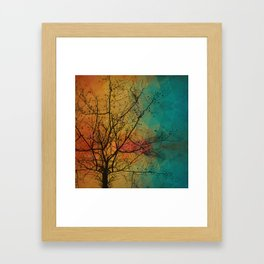 Tree with the knowledge of good & delightful Framed Art Print