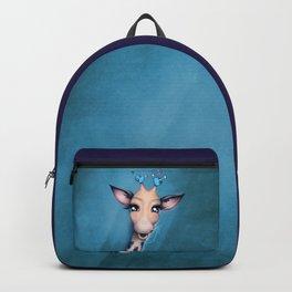 Pin Cushion Giraffe Backpack