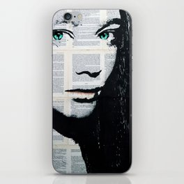 Yekaterina with butterflies iPhone Skin