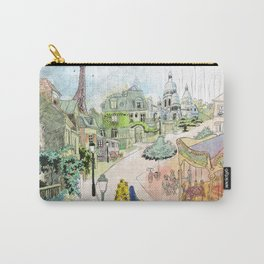 Madeline Montmartre colored Carry-All Pouch
