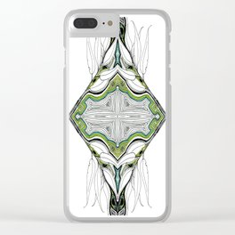 Nature is Watching Clear iPhone Case