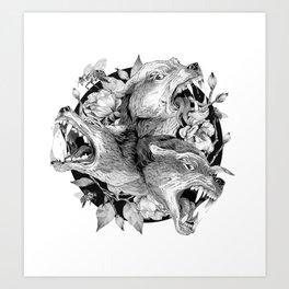 Cerberus Art Print