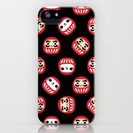 Sloth Daruma Doll iPhone Case