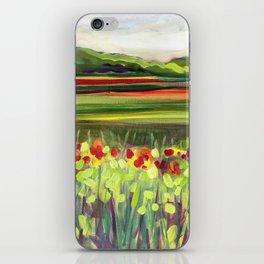 Wildflower Meadow iPhone Skin