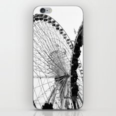 At the Fair: Round and Round iPhone & iPod Skin