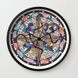 Entrapment Wall Clock