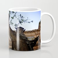 architect Mugs featuring Mushroom Architect by Cassandra Evelyn