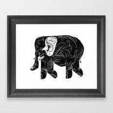 Phingerfant Framed Art Print