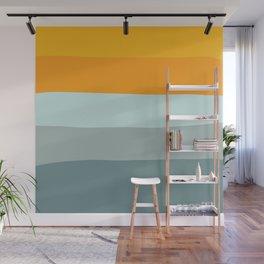 Zen Ocean Stripes Wall Mural