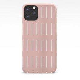 Mudcloth (Blush) iPhone Case