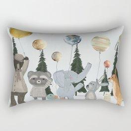 the solar parade Rectangular Pillow