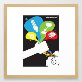 ideas catcher 2 Framed Art Print