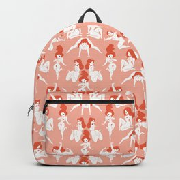 Pattern Pin-Up (pink) Backpack
