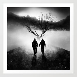 Finding Our Roots Art Print