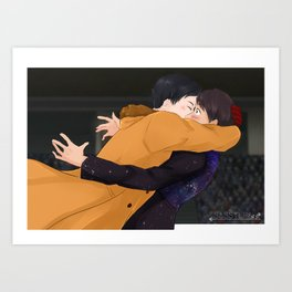Yuri on Ice - Phan edition (Dan and Phil) Art Print