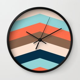 Kings River Sunset Wall Clock